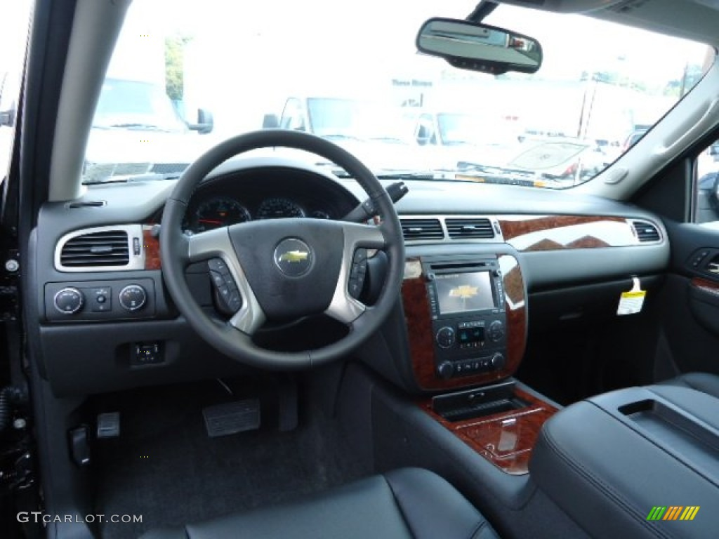 chevrolet avalanche interior ebony - photo #1