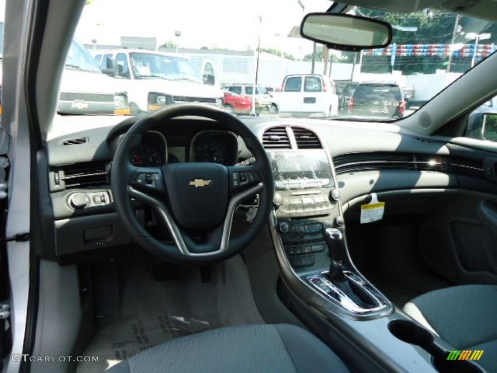 2013 Chevrolet Malibu Ls Jet Black Titanium Dashboard Photo 69536343