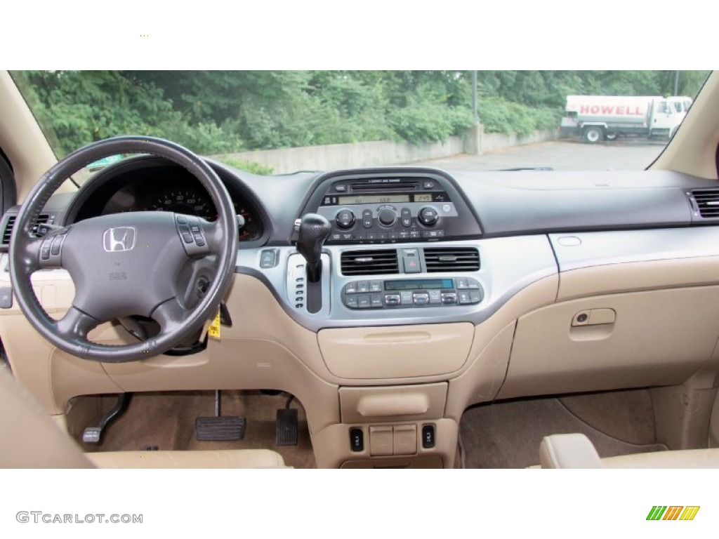 Wonderful 2008 Honda Odyssey EX L Ivory Dashboard Photo #69537885