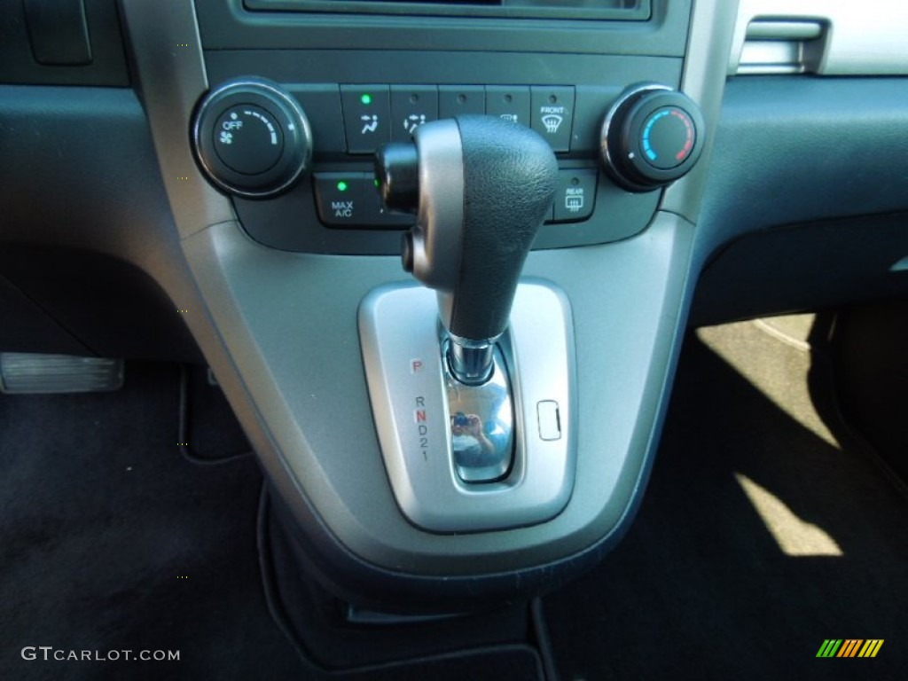 2010 CR-V LX AWD - Polished Metal Metallic / Black photo #11