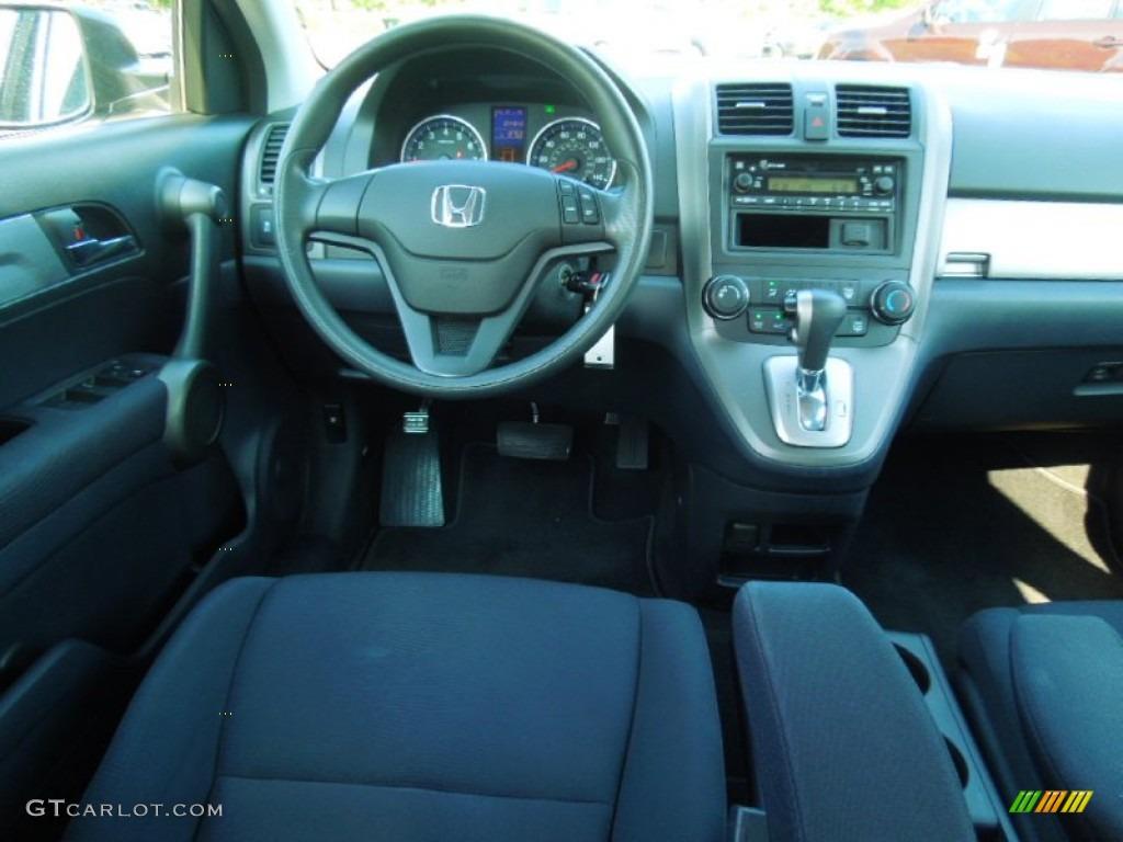 2010 CR-V LX AWD - Polished Metal Metallic / Black photo #16