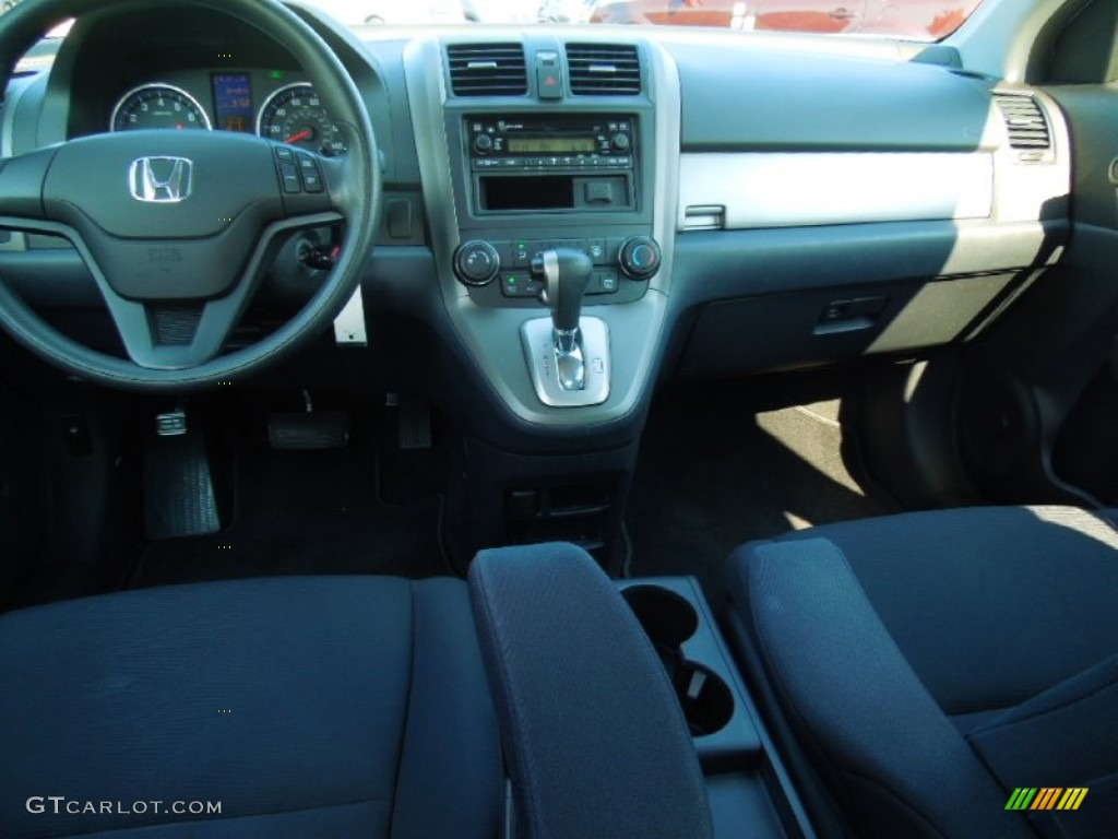 2010 CR-V LX AWD - Polished Metal Metallic / Black photo #17