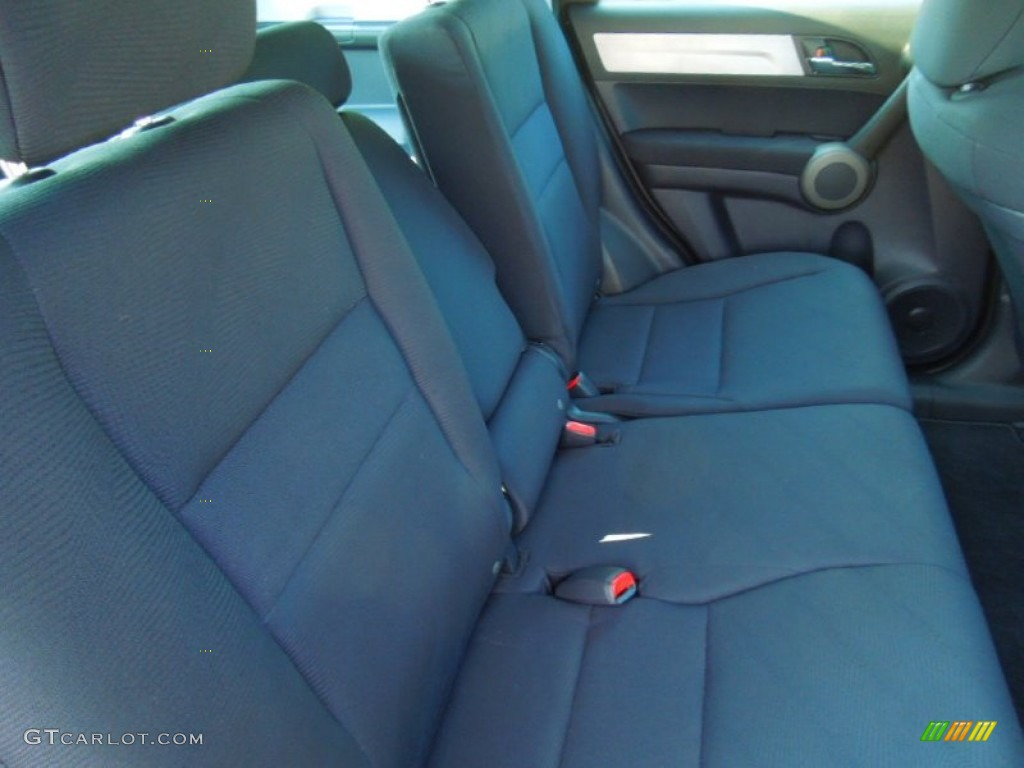 2010 CR-V LX AWD - Polished Metal Metallic / Black photo #19