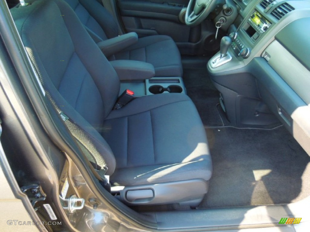 2010 CR-V LX AWD - Polished Metal Metallic / Black photo #20