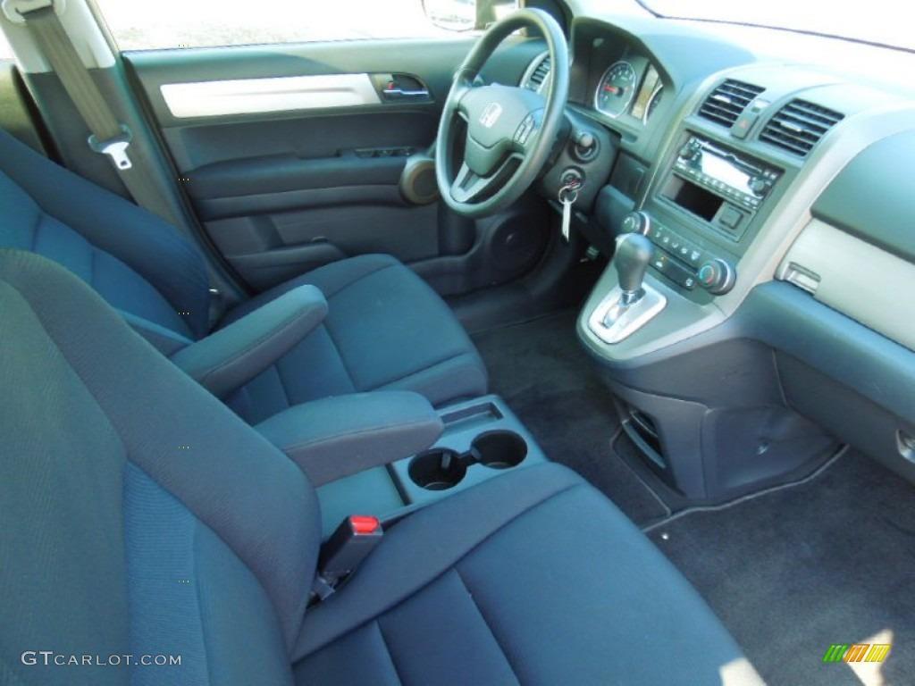 2010 CR-V LX AWD - Polished Metal Metallic / Black photo #21