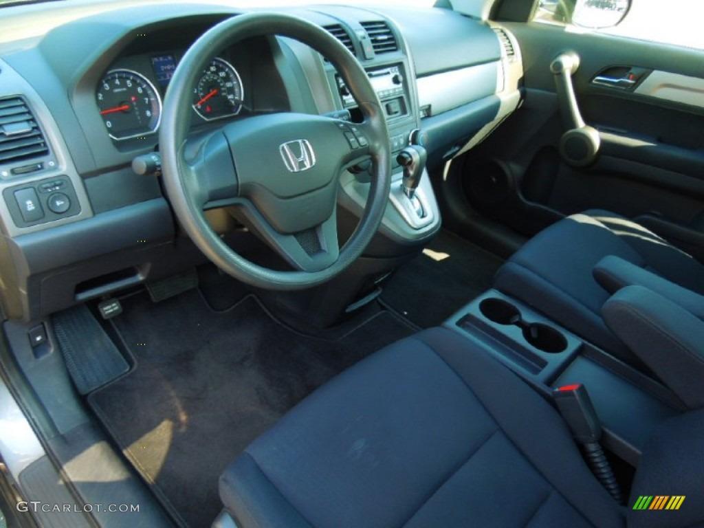 2010 CR-V LX AWD - Polished Metal Metallic / Black photo #25