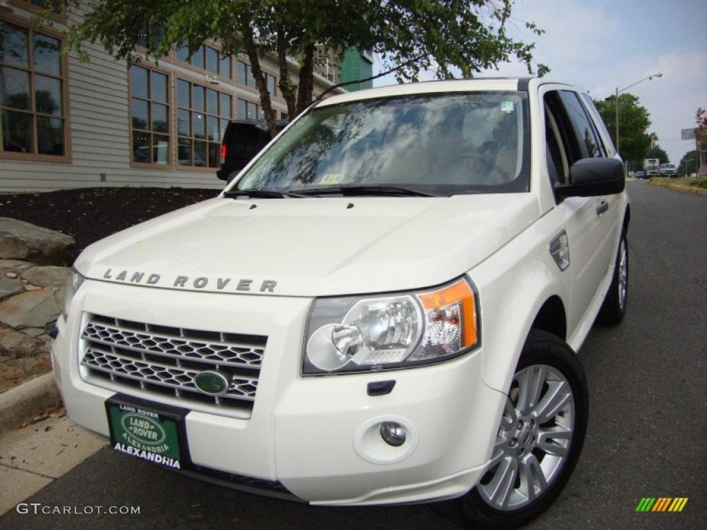 Alaska white land rover lr2