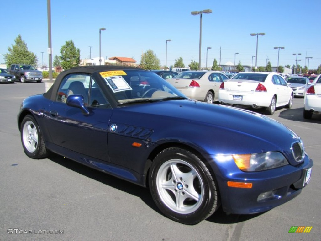 Montreal Blue Metallic 1996 Bmw Z3 1 9 Roadster Exterior