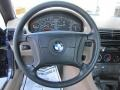 1996 BMW Z3 Tan Interior Steering Wheel Photo