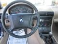 1996 BMW Z3 Tan Interior Dashboard Photo