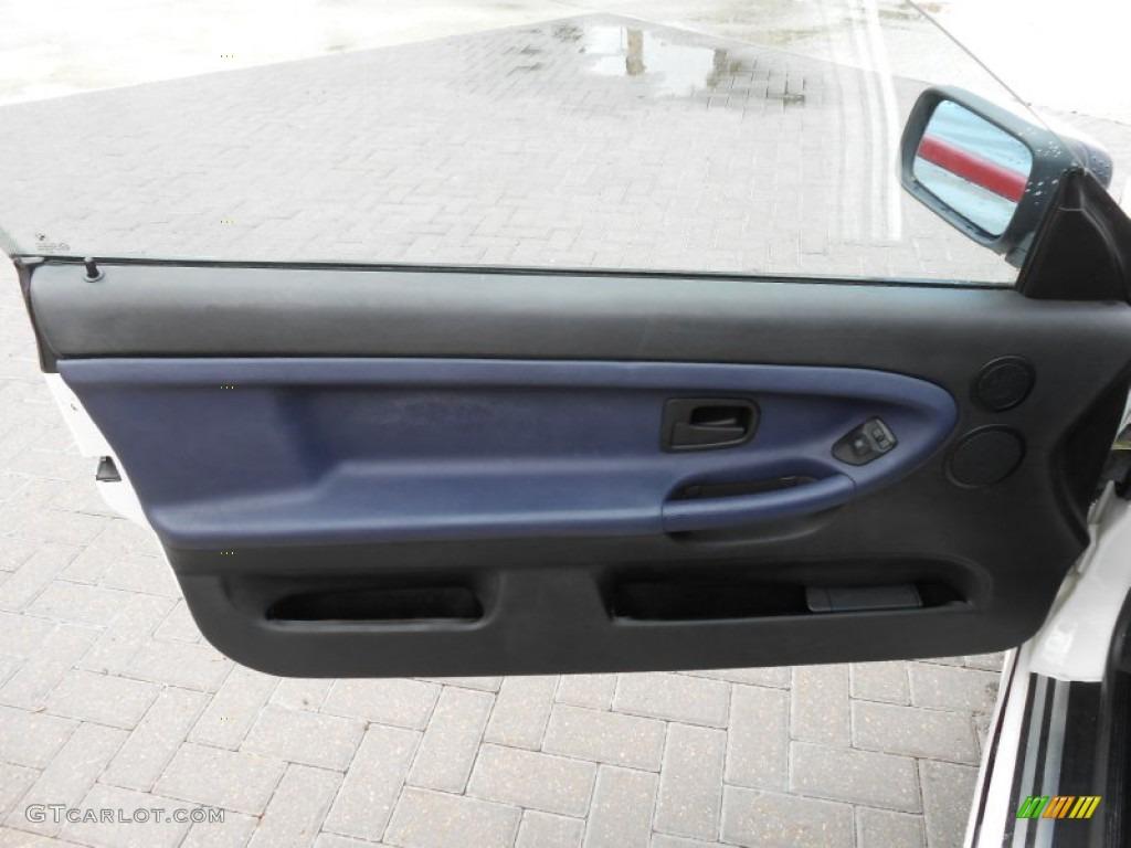 1996 Bmw 3 Series 328i Convertible Blue Door Panel Photo 69559593