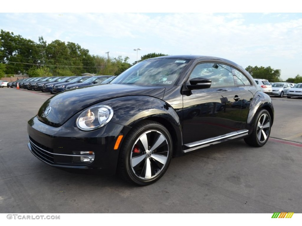 deep black pearl metallic 2013 volkswagen beetle turbo exterior photo 69560853. Black Bedroom Furniture Sets. Home Design Ideas