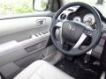 2012 Honda Pilot Gray Interior Steering Wheel Photo