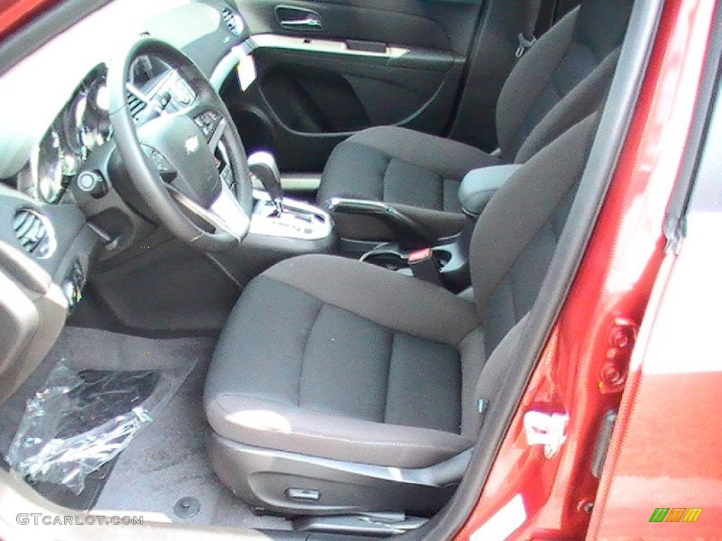 Jet Black Interior 2013 Chevrolet Cruze Lt Rs Photo 69572005