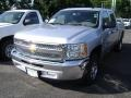 2013 Silver Ice Metallic Chevrolet Silverado 1500 LS Crew Cab  photo #1