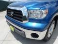 2008 Blue Streak Metallic Toyota Tundra Double Cab  photo #11