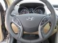 Beige Steering Wheel Photo for 2013 Hyundai Elantra #69580038