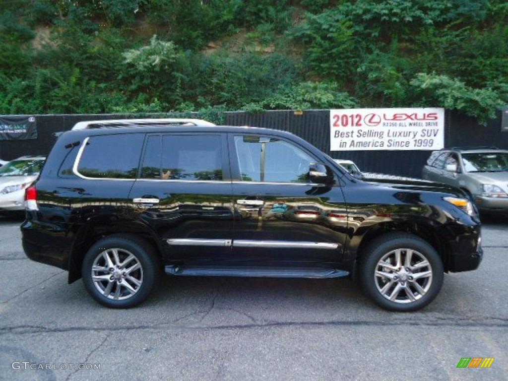 2013 lexus lx 570 black