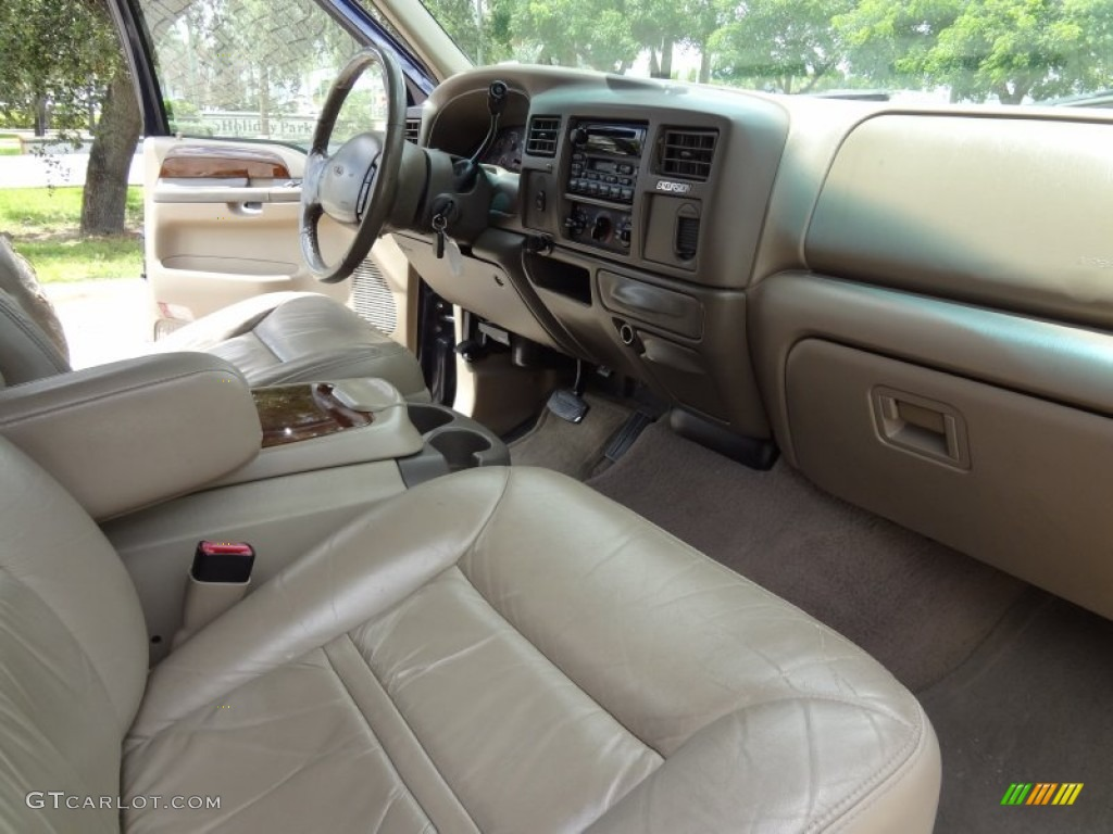2000 Ford Excursion Limited Interior Photos