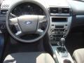 2011 Blue Flame Metallic Ford Fusion SE V6  photo #12