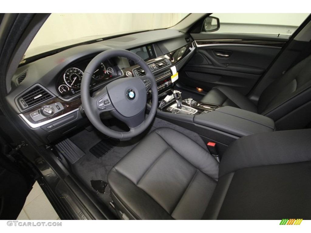 black interior 2013 bmw 5 series 535i sedan photo 69597400