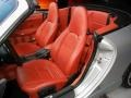 Boxster Red Front Seat Photo for 1999 Porsche 911 #69598180