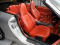 Boxster Red Front Seat Photo for 1999 Porsche 911 #69598234