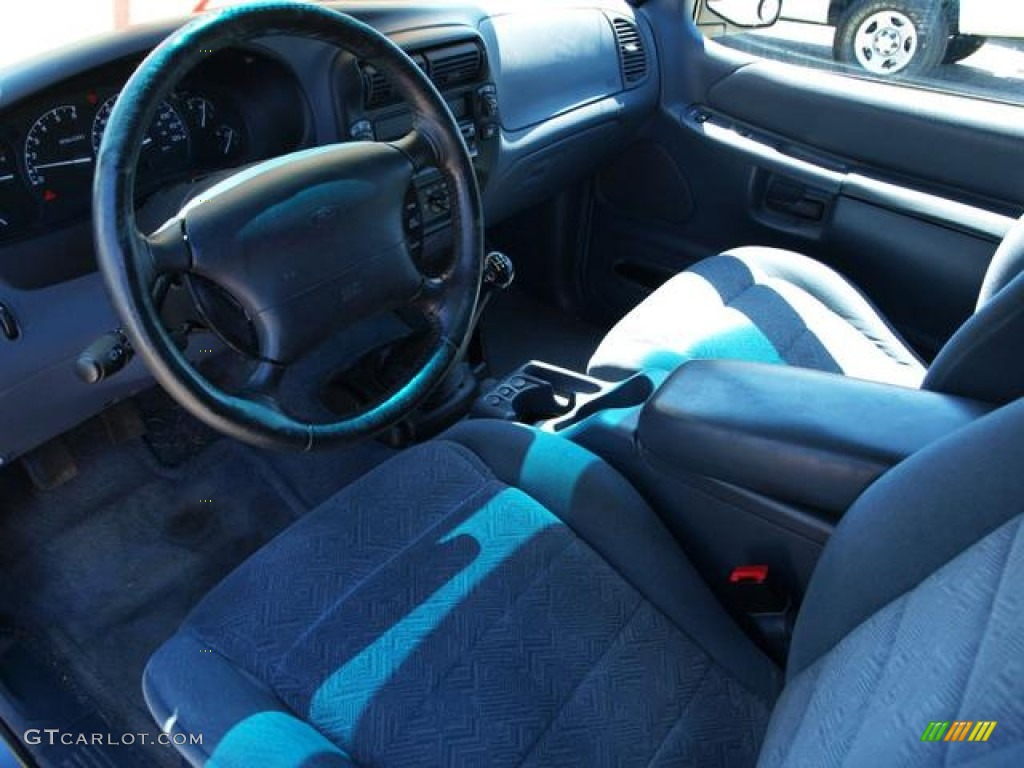 Medium Dark Denim Blue Interior 1998 Ford Explorer Sport 4x4 Photo ...