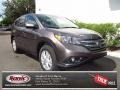 2012 Urban Titanium Metallic Honda CR-V EX  photo #1