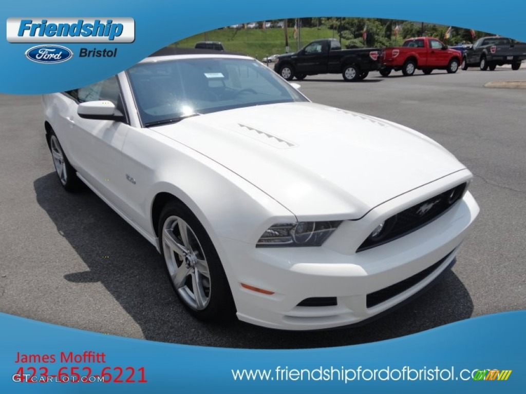 2013 mustang gt premium convertible performance white charcoal. Black Bedroom Furniture Sets. Home Design Ideas