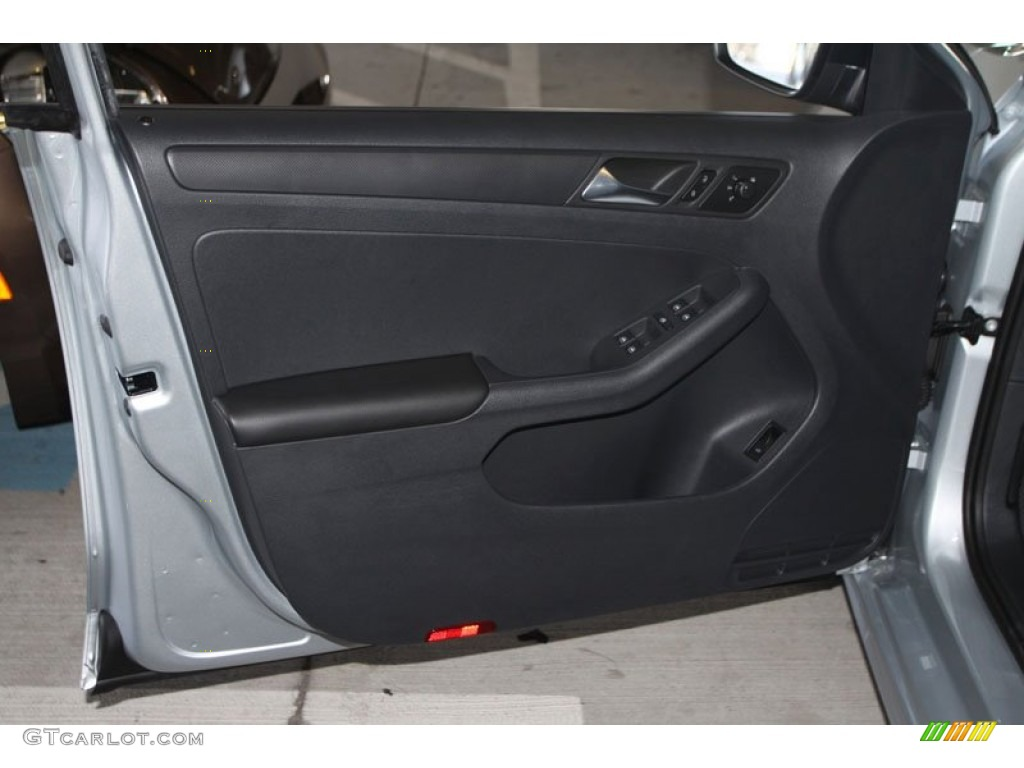 2013 Volkswagen Jetta S Sedan Titan Black Door Panel Photo 69628354