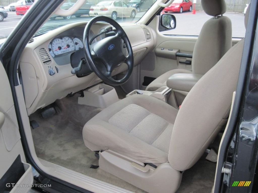 Medium Parchment Beige Interior 2003 Ford Explorer Sport XLS Photo #69628828 Home Design Ideas