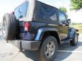 2012 True Blue Pearl Jeep Wrangler Oscar Mike Freedom Edition 4x4  photo #3
