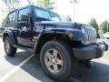 2012 True Blue Pearl Jeep Wrangler Oscar Mike Freedom Edition 4x4  photo #4