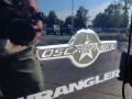 2012 True Blue Pearl Jeep Wrangler Oscar Mike Freedom Edition 4x4  photo #6