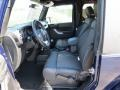 2012 True Blue Pearl Jeep Wrangler Oscar Mike Freedom Edition 4x4  photo #7