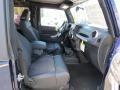 2012 True Blue Pearl Jeep Wrangler Oscar Mike Freedom Edition 4x4  photo #9