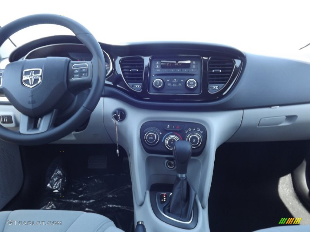 2013 Dodge Dart Sxt Black Light Diesel Gray Dashboard