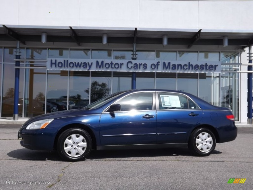 2003 eternal blue pearl honda accord lx sedan 69622374. Black Bedroom Furniture Sets. Home Design Ideas