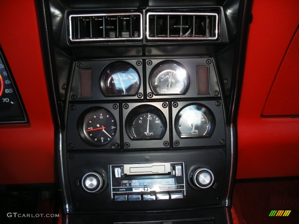 1979 Chevrolet Corvette Coupe Gauges Photos | GTCarLot.com