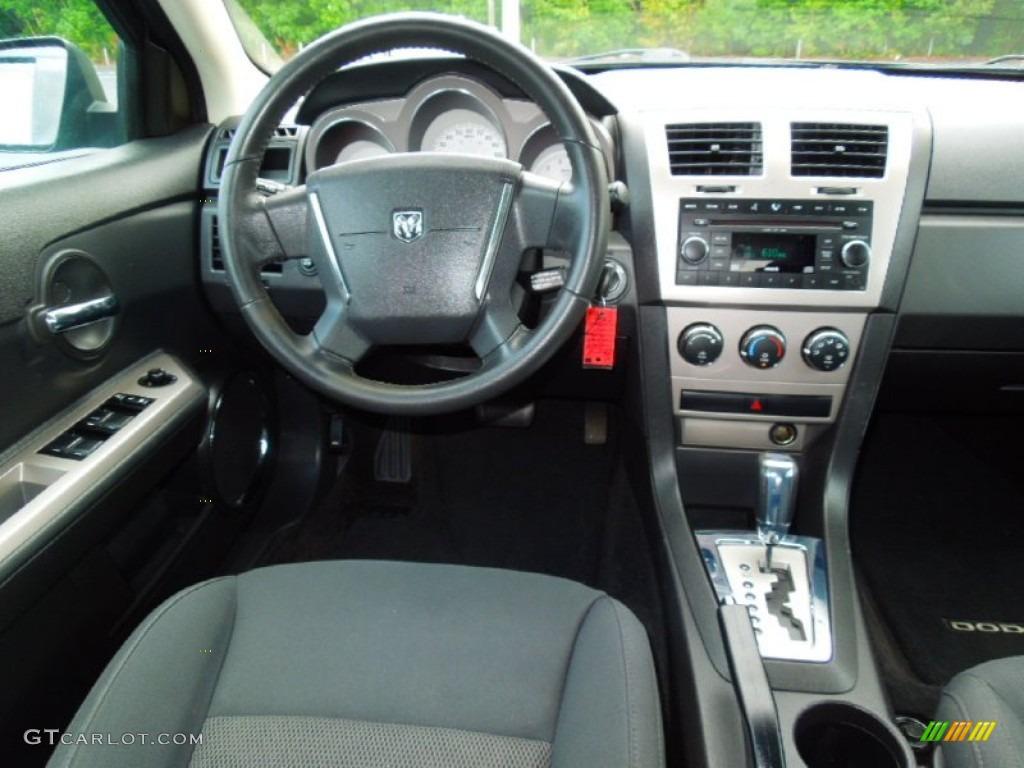 2009 Dodge Avenger SXT Dark Slate Gray Dashboard Photo #69649978 ...