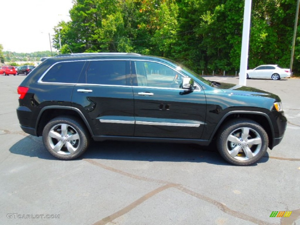 236e73812d 2013 Black Forest Green Pearl Jeep Grand Cherokee Overland  69622499 Photo   4