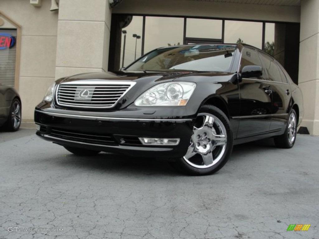 2006 black onyx lexus ls 430 69622324 car color galleries. Black Bedroom Furniture Sets. Home Design Ideas