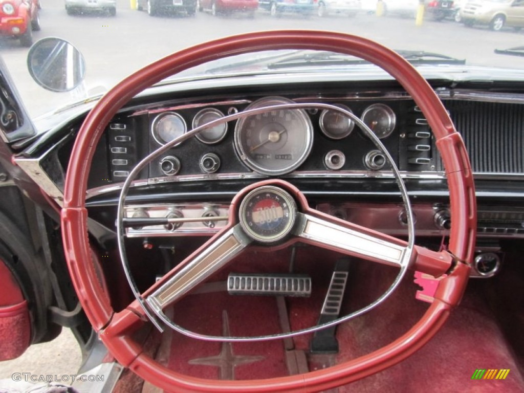 2012 Chrysler 200 Tire Size >> 1964 Chrysler 300 2-Door Hardtop Red Steering Wheel Photo ...