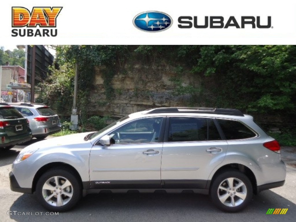 2013 ice silver metallic subaru outback 25i limited 69657669 2013 outback 25i limited ice silver metallic black photo 1 vanachro Gallery