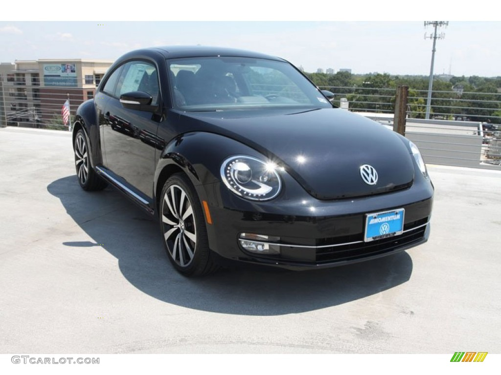 2013 deep black pearl metallic volkswagen beetle turbo 69658437 car color. Black Bedroom Furniture Sets. Home Design Ideas