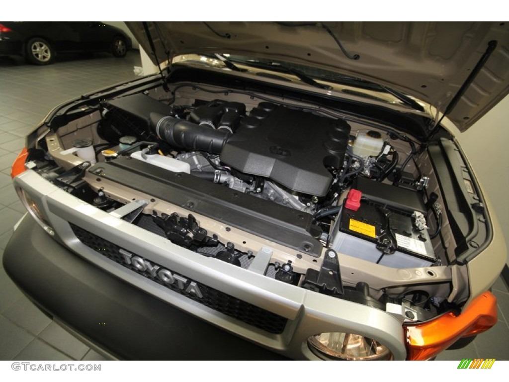 2012 Toyota Fj Cruiser 4wd 4 0 Liter Dohc 24 Valve Dual