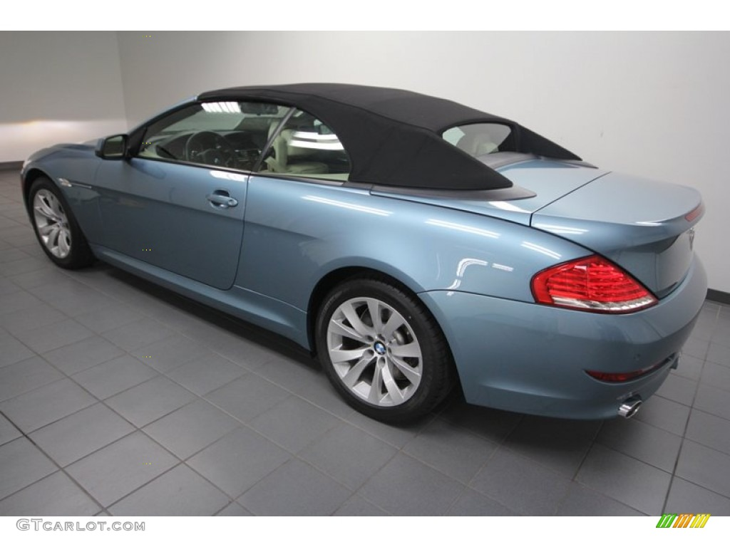 atlantic blue metallic 2010 bmw 6 series 650i convertible. Black Bedroom Furniture Sets. Home Design Ideas