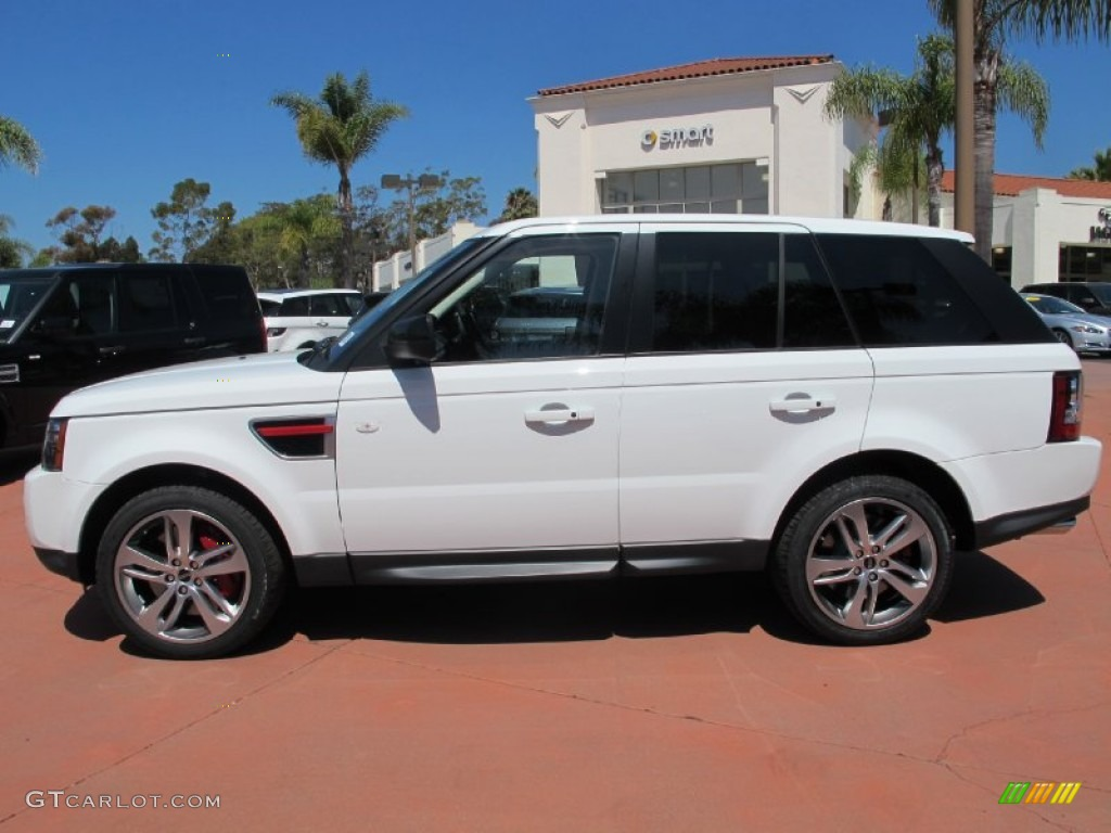 fuji white 2013 land rover range rover sport supercharged. Black Bedroom Furniture Sets. Home Design Ideas