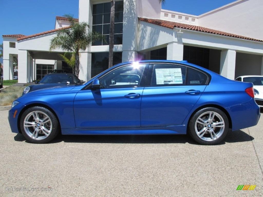 2013 Estoril Blue BMW 3 Series 328i Sedan 69657633 Photo 2